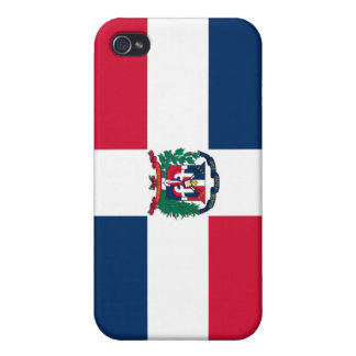 Dominican Republic National Flag  Covers For iPhone 4