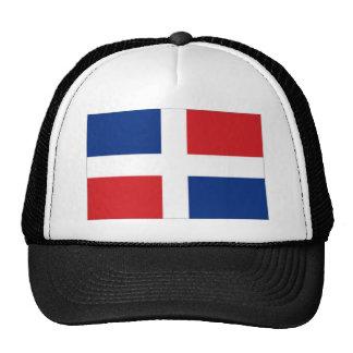 Dominican Republic National Flag Trucker Hat