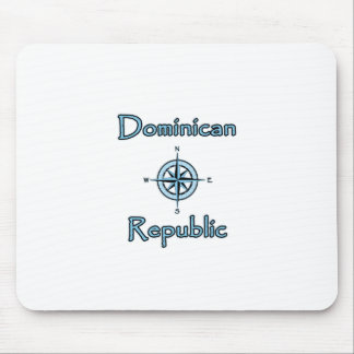 Dominican Republic Nautical Logo (Compass Rose) Mouse Pad