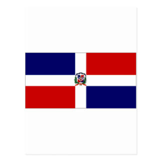 Dominican Republic Naval Ensign Postcard