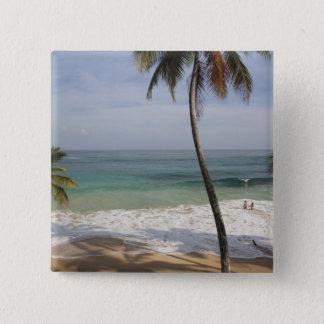 Dominican Republic, North Coast, Abreu, Playa 4 Pinback Button