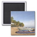 Dominican Republic, North Coast, Nagua, Playa 2 Inch Square Magnet