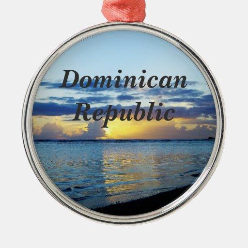 Dominican Republic Christmas Ornament
