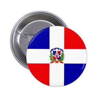 Dominican Republic Pinback Button