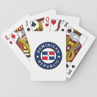 Dominican Republic Playing Cards