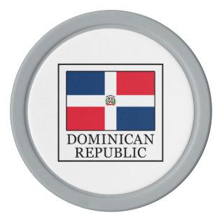 Dominican Republic Poker Chip Set at Zazzle
