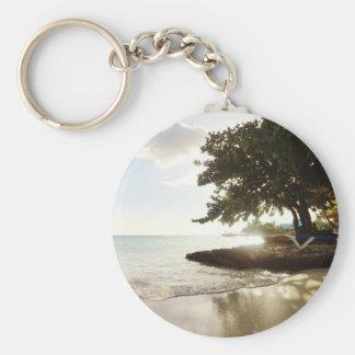 Dominican Republic Punta Canta Beach Key Chains
