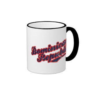 Dominican Republic Ringer Coffee Mug