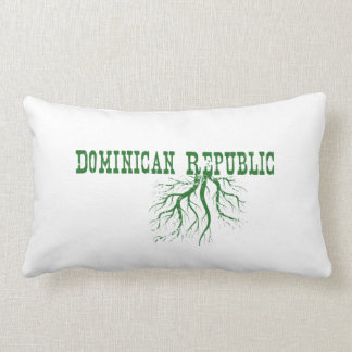 Dominican Republic Roots Throw Pillows