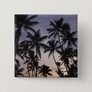 Dominican Republic, Samana Peninsula, Las 2 Pinback Button