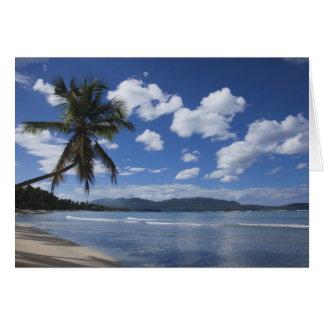 Dominican Republic, Samana Peninsula, Las 4 Greeting Card
