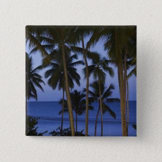 Dominican Republic, Samana Peninsula, Las Pinback Button