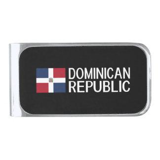 Dominican Republic Silver Finish Money Clip