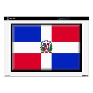 "Dominican Republic 17"" Laptop Skin"