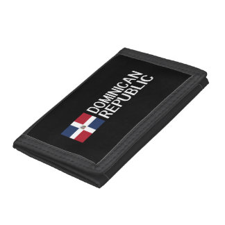 Dominican Republic Trifold Wallet
