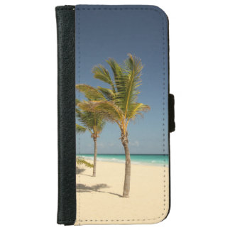 Dominican Republic Tropical Beach Wallet Phone Case For iPhone 6/6s