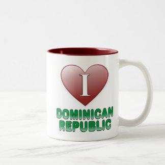 Dominican Republic Two-Tone Coffee Mug