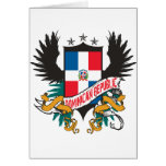 Dominican Shield 2 Greeting Card