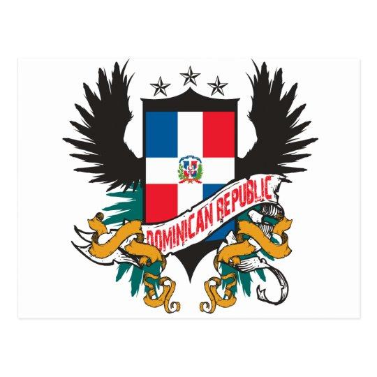 Dominican Shield 2 Postcard