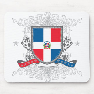 Dominican Shield Mouse Pad