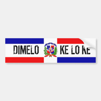 DOMINICAN STICKER