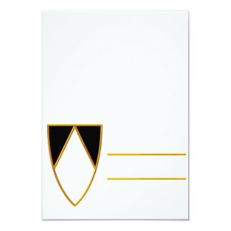 "Dominican Symbol Individual Cards 3.5"" X 5"" Invitation Card"