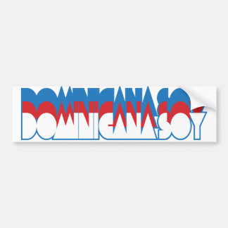 Dominicana Soy Bumper Sticker
