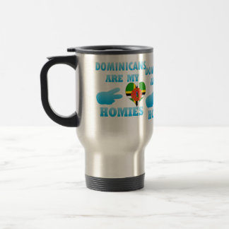 Dominicans are my Homies 15 Oz Stainless Steel Travel Mug