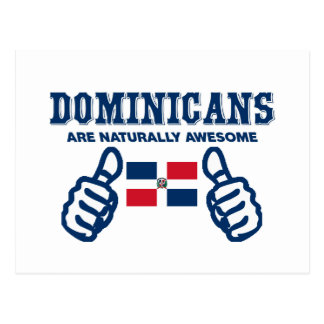 Dominicans are naturally awesome postcard