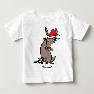 Dominick el burro playera de bebé
