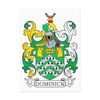 Dominick Family Crest Canvas Print