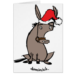 Dominick the Donkey Card