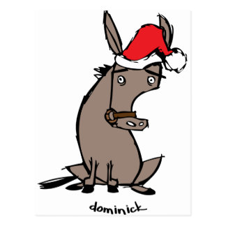 Dominick the Donkey Postcard