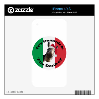 dominick the donkey skins for the iPhone 4