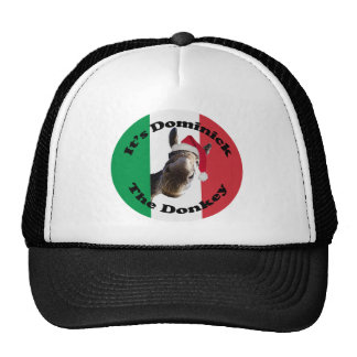 dominick the donkey trucker hat