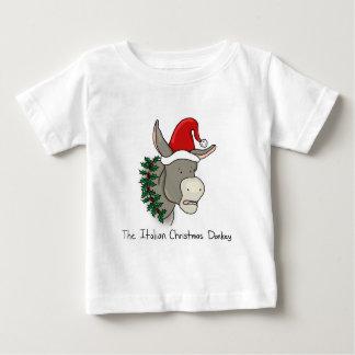 Dominick the Italian Christmas Donkey Baby T-Shirt