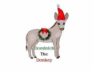 dominick the italian christmas donkey baby t shirt - Dominick The Italian Christmas Donkey