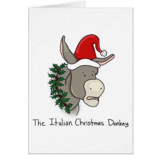 Dominick the Italian Christmas Donkey Card
