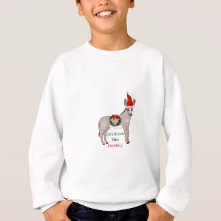 Dominick the italian christmas donkey sweatshirt