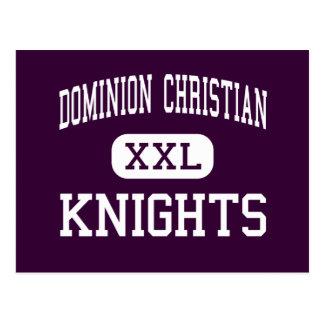 Dominion Christian - Knights - High - Marietta Postcard