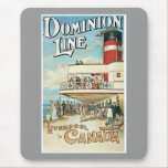 Dominion Line Liverpool To Canada Mousepad