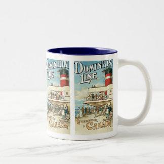 Dominion Line ~ Liverpool to Canada Mugs