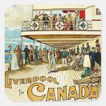 Dominion Line ~ Liverpool to Canada Square Sticker