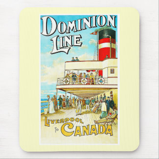 Dominion Line Liverpool to Canada Vintage Mouse Pad