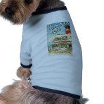 Dominion Line Passenger Ship Vintage Travel Pet Clothes