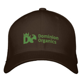 Dominion Organics fitted hat Embroidered Hats