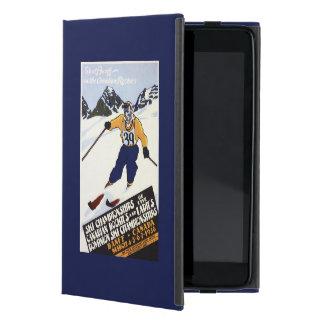 Dominion Ski Championship Poster iPad Mini Cover