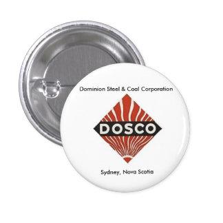 Dominion Steel & Coal Cape Breton Pinback Button