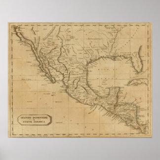 Dominios españoles en Norteamérica Impresiones