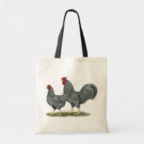 Dominique Chickens Tote Bag